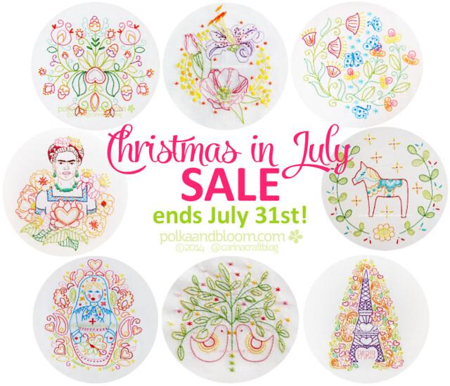 Xmas in July sale reminder