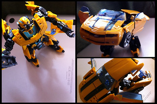 Bumblebee Action Figure Transformation
