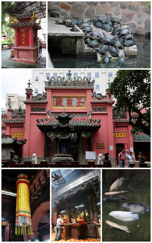"Jade Emperor Pagoda or Phước Hải Tự (福海寺, ""Luck Sea Temple"" ) in Saigon"