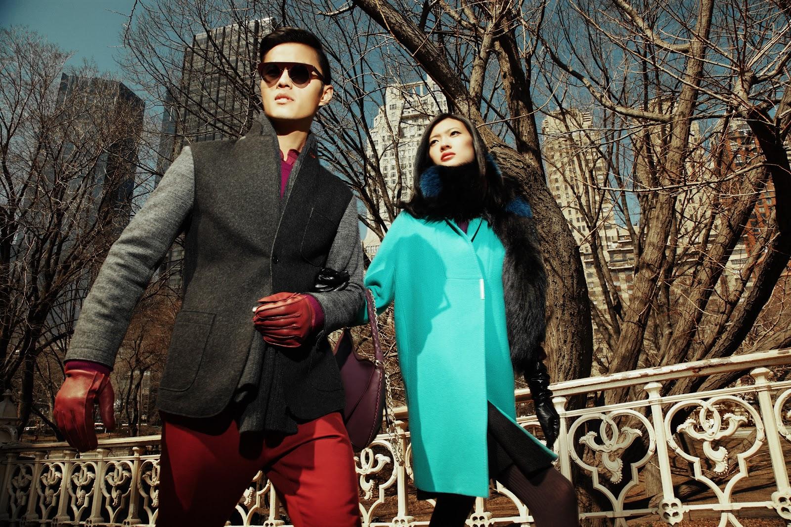 Shanghai Tang Fall 2014 campaign