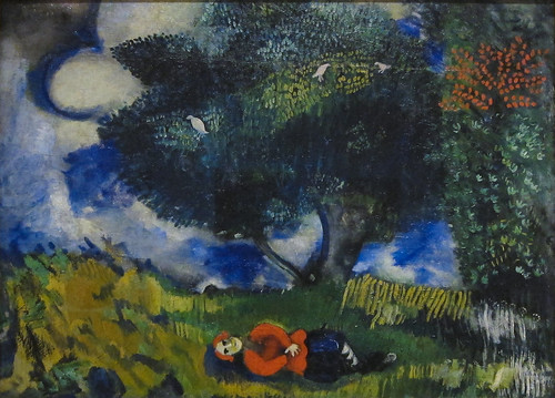 Marc Chagall, The Poet with the Birds, 1911