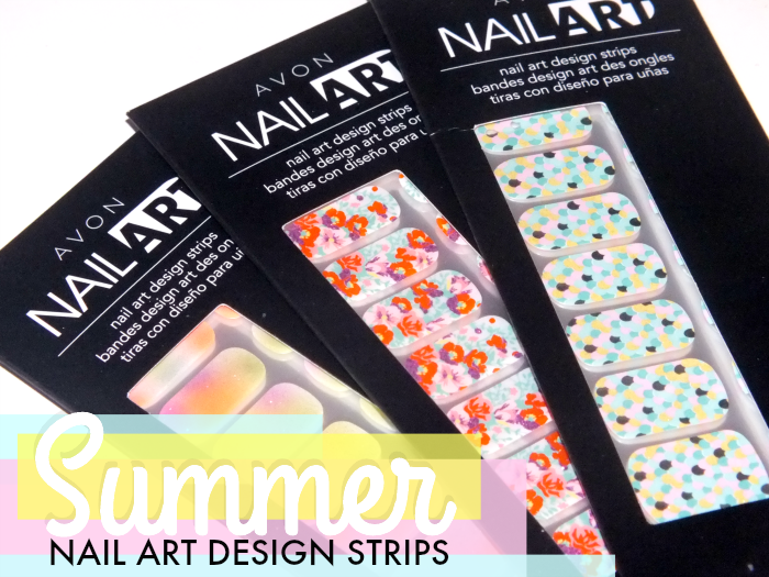 Avon Nail Art Design Strips Summer 2014 I Know All The Words