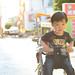 my son Rainy 20 month 阿鴻一歲8個月 in 東海藝術街  DSC_3154
