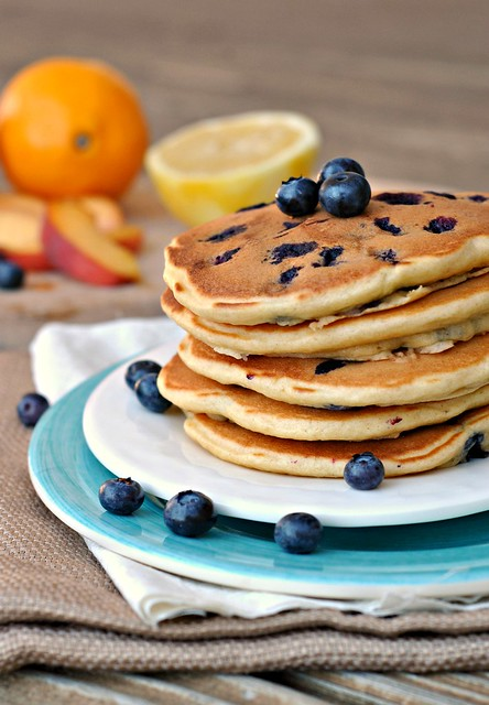 Lemon Blueberry Pancakes 1