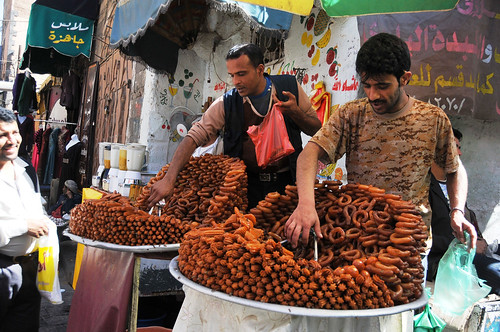 Making and selling traditional sweets