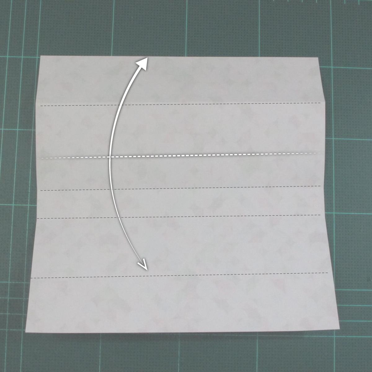 วิธีพับกล่องของขวัญแบบมีฝาปิด (Origami Present Box With Lid) 007