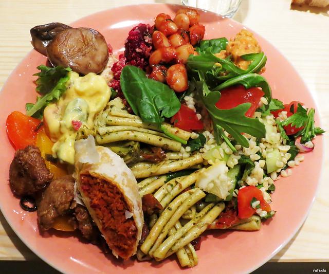Sample Vegan Food Menu
