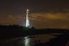 Barnegat Lighthouse at night
