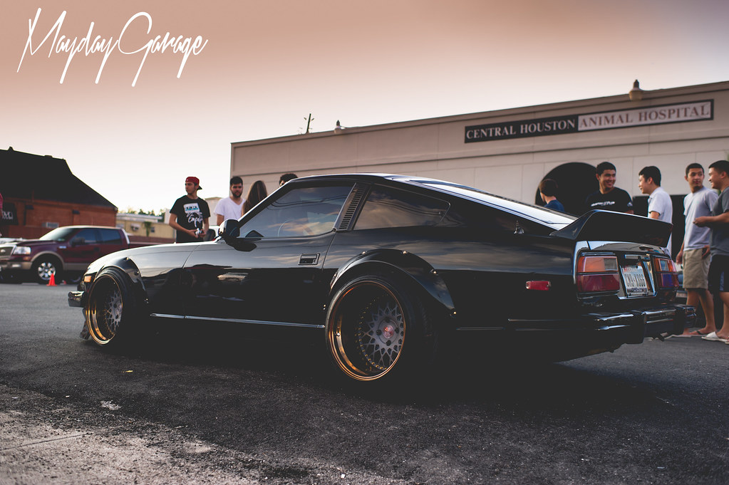 Bruce's now efamous 280ZX as he made his official debut