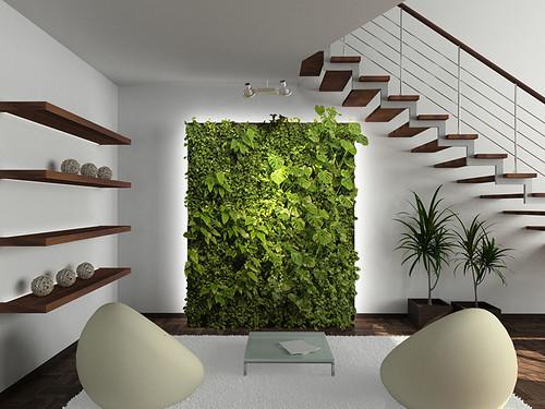 植物與室內裝修融合,讓生活時時充滿「綠意」_圖片來源:Green Over Grey
