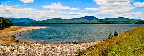water landscape reservoir ashokan catskills tamron1024mmlens