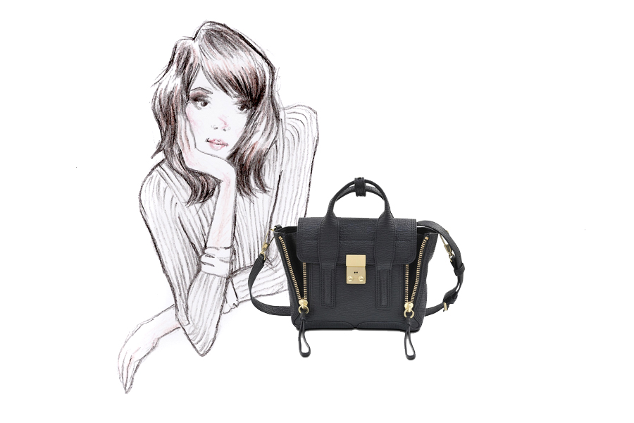 Monnier Frères designer bags autumn winter style illustration drawing blogger Ricarda Schernus Berlin CATS & DOGS 3