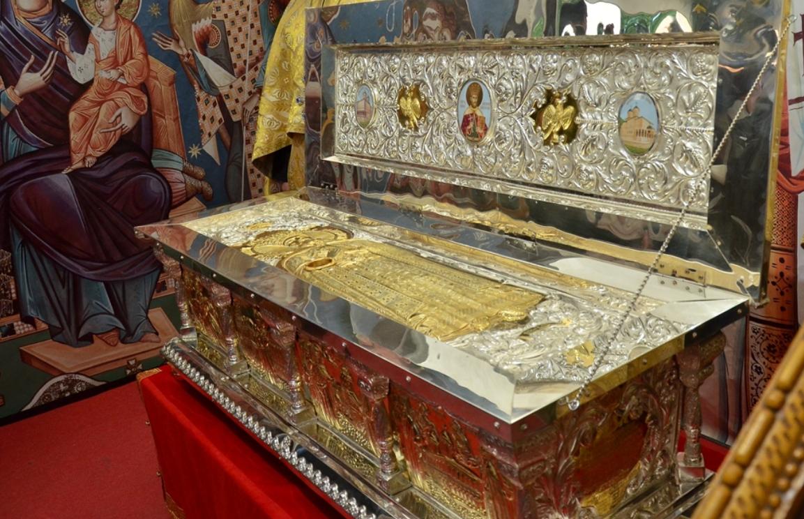 racla Sfantului Constantin Brancoveanu
