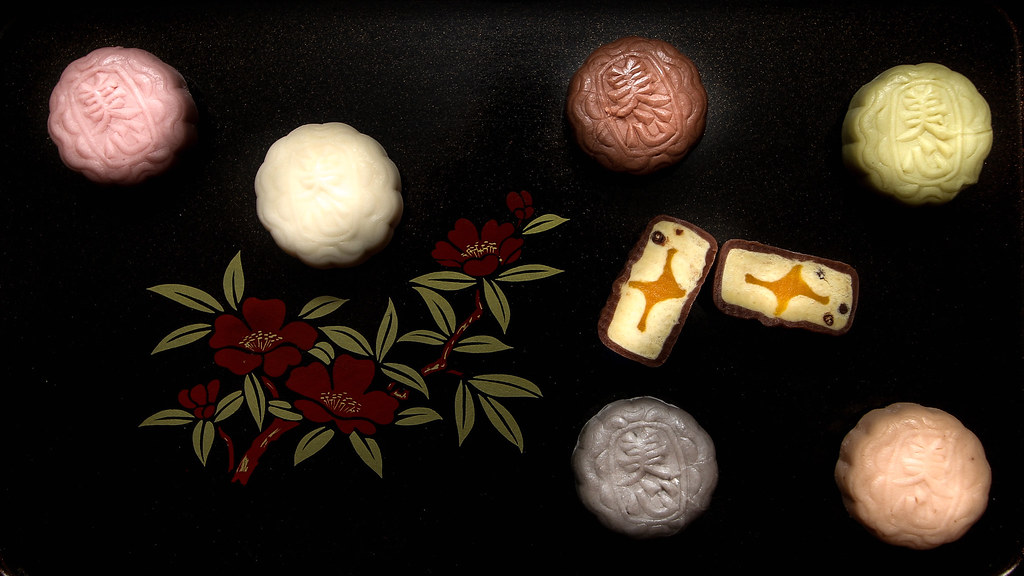 Mei Xin Mooncake: The different snow skin mooncakes
