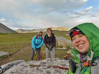 Smiles from the Nice Meadow on Huron Peak