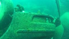 [DSAC Preston Hill Quarry Inverkeithing] Front of Saab 93