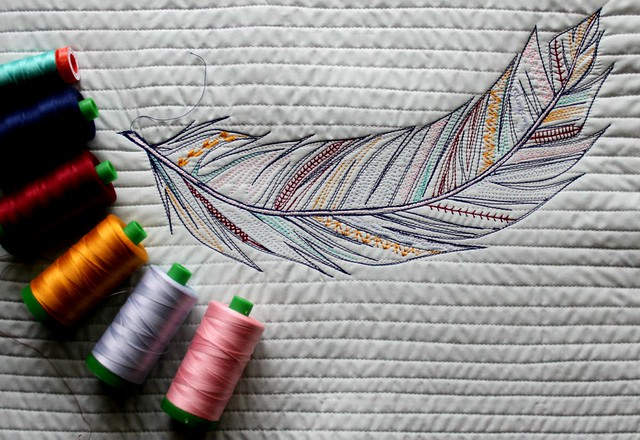 Feather Sketch Stitch