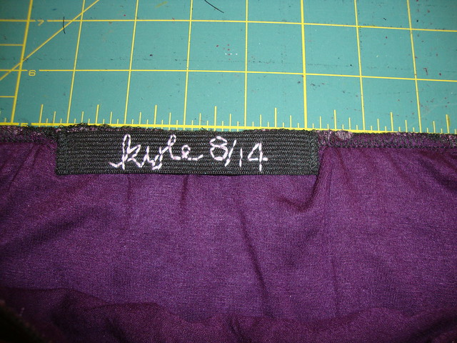 New Look 6843 as a purple knit