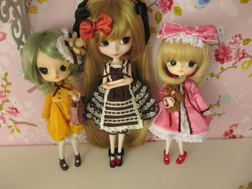 Kanaria (clair) & Shinku & Hina Ichigo (madoka)