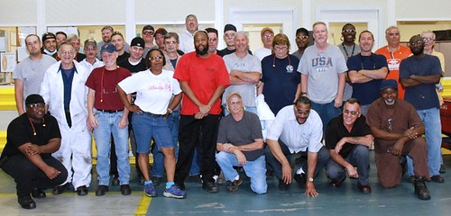 Philadelphia's Coining division staff August 2014