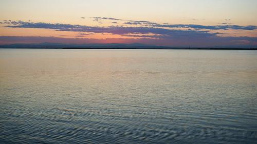 antoniotajuelo 瓦倫西亞來自阿爾布費拉湖的日落 西班牙遊記