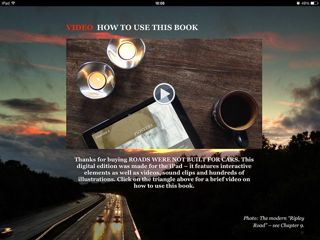 "iPad ""how to use this book"" video"