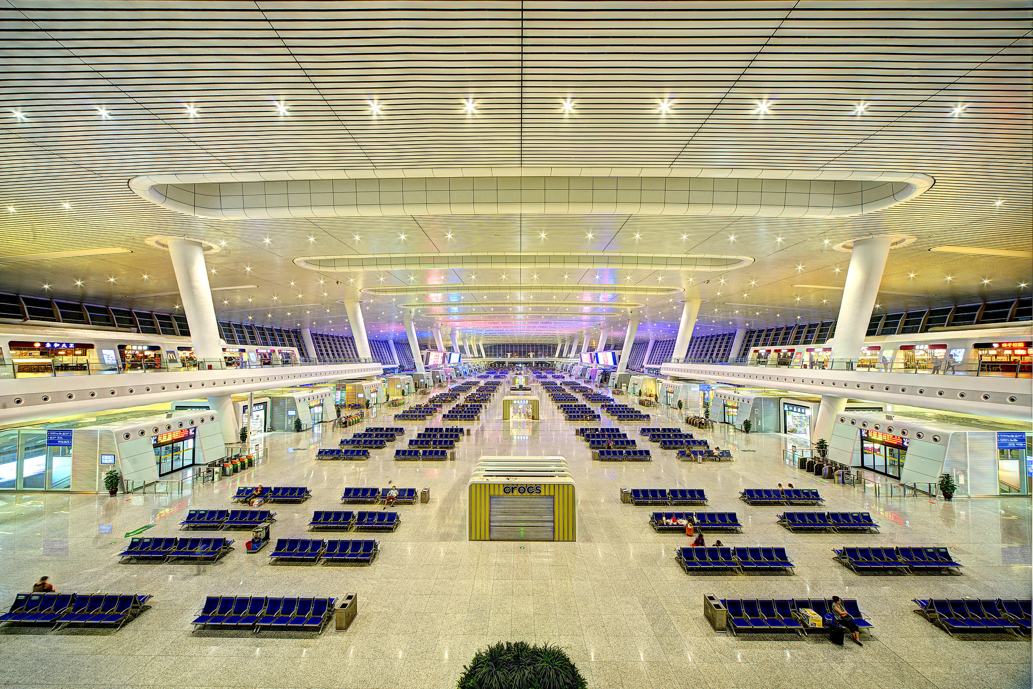 Hangzhou East Railway Station, Interior [2048x1367]