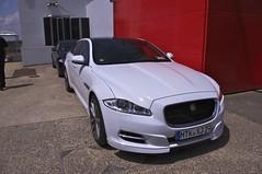 automobile(1.0), automotive exterior(1.0), executive car(1.0), wheel(1.0), vehicle(1.0), performance car(1.0), automotive design(1.0), full-size car(1.0), bumper(1.0), jaguar xf(1.0), sedan(1.0), personal luxury car(1.0), land vehicle(1.0), luxury vehicle(1.0),