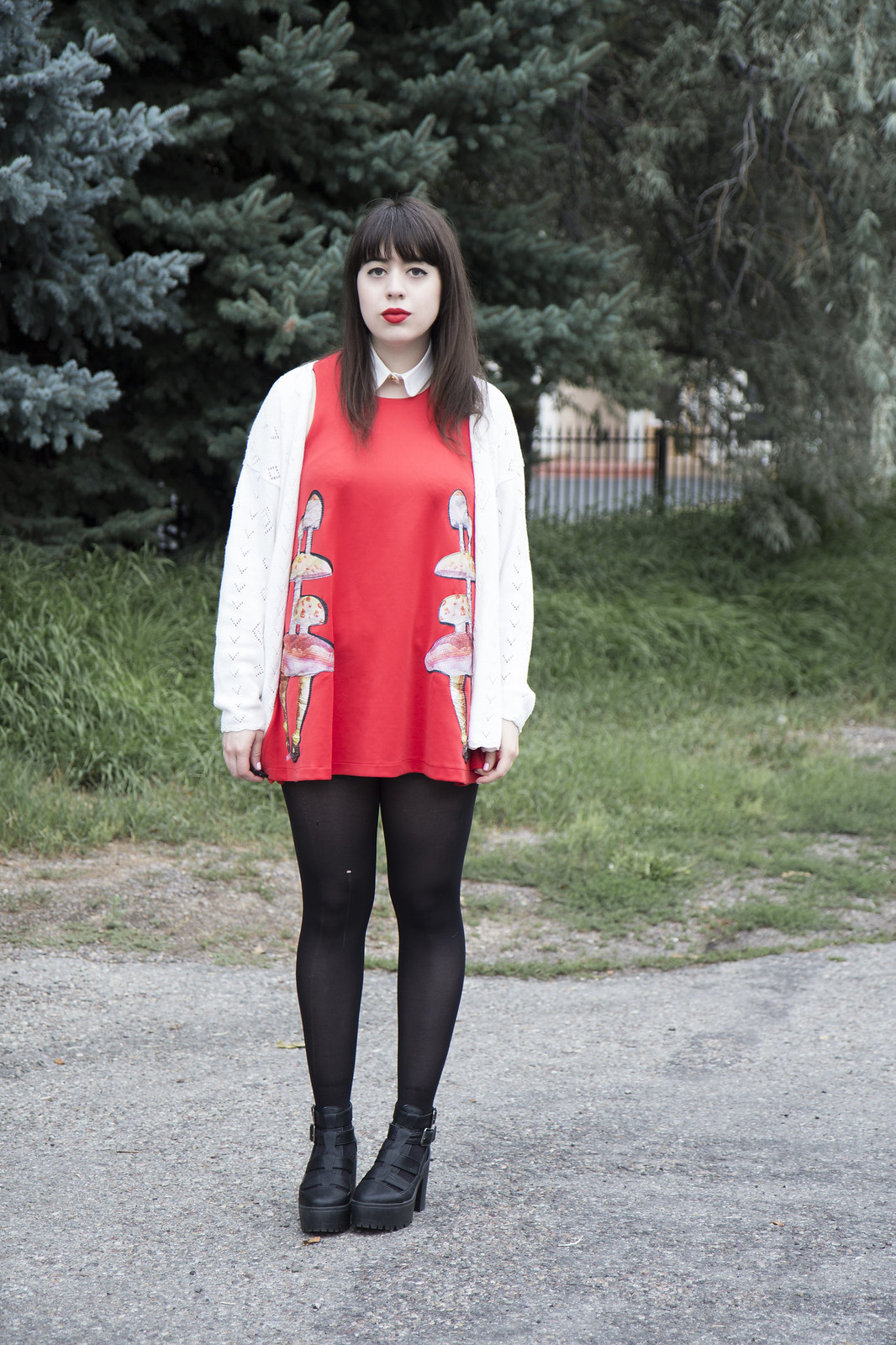 OASAP mushroom dress