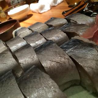 鯖寿司ヤバすぎる #dinner