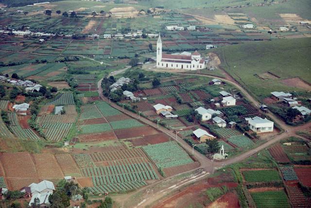 DALAT 1969 by Tom Petersen - Farm village