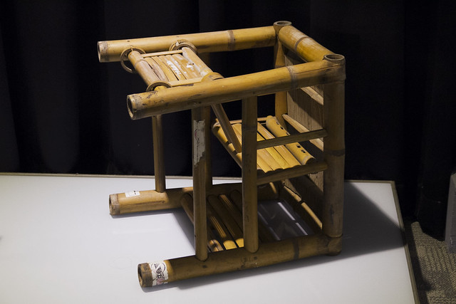 Cool bamboo chair for kids or adults songshang cultural for Fun chairs for adults