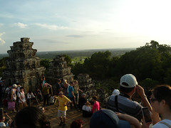 Sunset at Phnom Bakheng Angkor Thom - 06