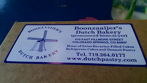 Boonzaaijers Dutch Bakery, Colorado Springs