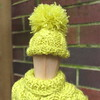 Miniature Cabled beanie hat