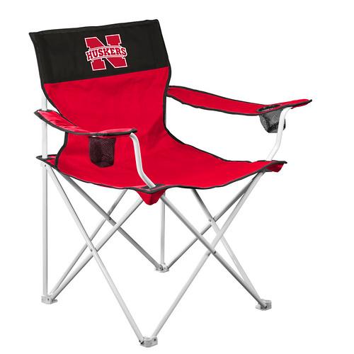 Nebraska Cornhuskers Tigers Big Boy Chair