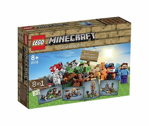 LEGO Minecraft 21116 Crafting Box BOX