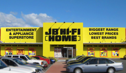 The JB Hi-Fi Home concept is positioned to take advantage of the home automation trend
