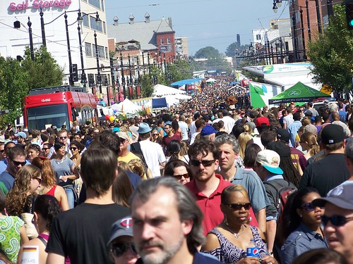 H Street Festival crowd shot, September 20th, 2014