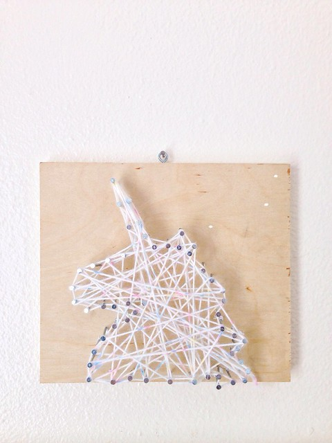 We Made It: DIY String Art