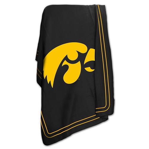 Iowa Hawkeyes NCAA Classic Fleece Throw