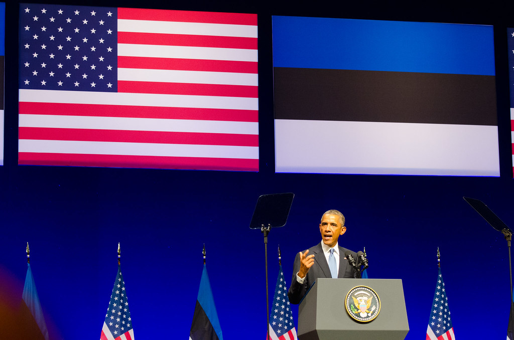 President Barack Obama in Nordea Concert Hall