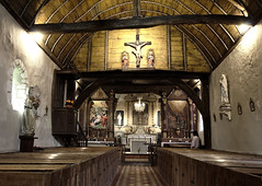 Interieur de l'église Saint-Benoît de Saint-Benoît des Ombres
