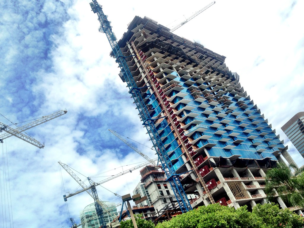 Brickell City Centre - construction
