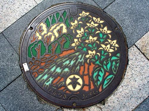 Takatsuki Osaka, manhole cover (大阪府高槻市のマンホール)