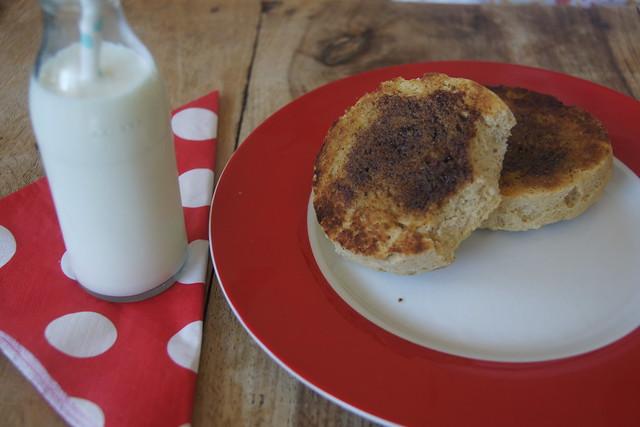 Gluten free English muffins DSC00130
