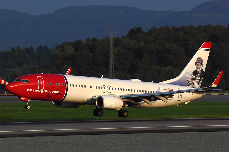 Norwegian - B738 - LN-NOR (1.1)