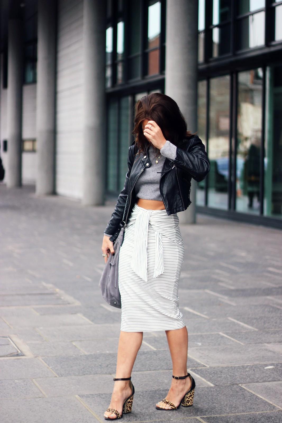 Zara Tie-Waist skirt