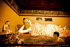 Reclining Burmese Buddha 0822