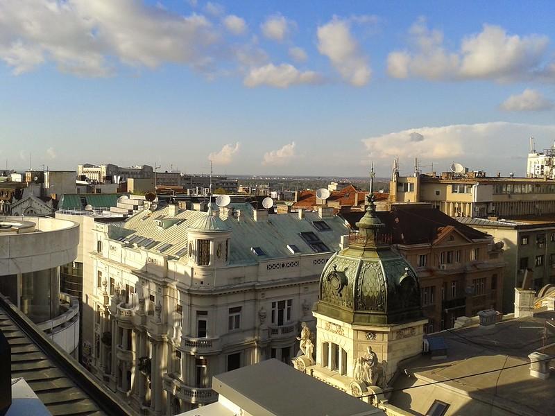 Belgrade rooftops